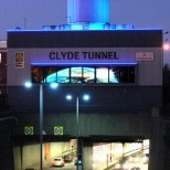 Clyde Tunnel – Hold Your Breath – completed project at night
