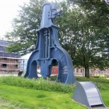 Beardmore Park Steam Hammer – daytime