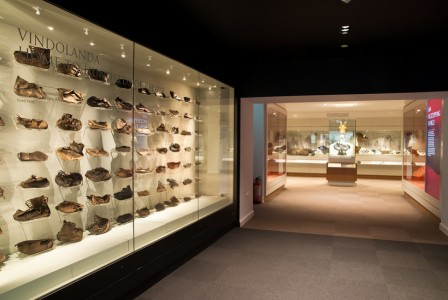 Vindolanda – shoe display
