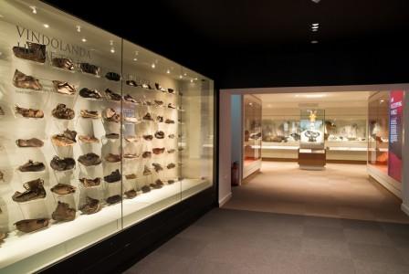Vindolanda – shoe display