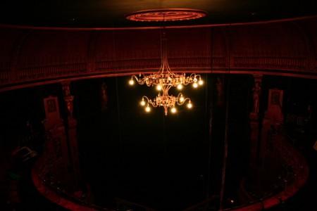 Sub Rosa – final image of the Citz auditorium